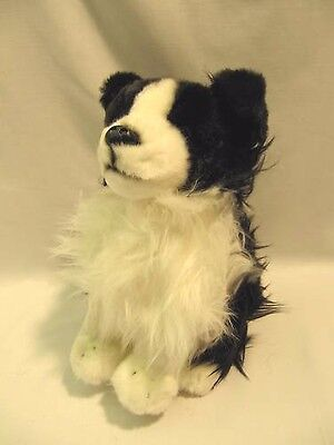 NEW 140mm Border Collie Cuddly & Soft Dog Toy - Free Delivery