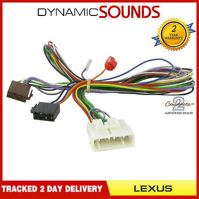 Connects2 CT51-LX01 Amplifier By-Pass ISO Stereo Harness Lead For Lexus IS200