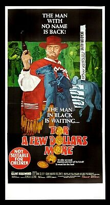 For A Few Dollars More * Western Movie Poster 1965