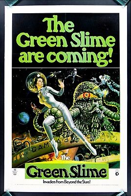 Green Slime * Movie Poster Monster Horror Space Sci Fi
