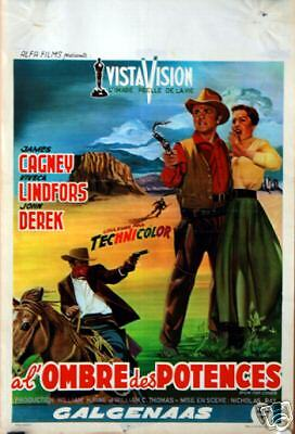James Cagney : Nicholas Ray : Run For Cover : AFFICHE