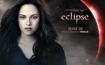 TWILIGHT ECLIPSE MOVIE POSTER Bella HOT NEW