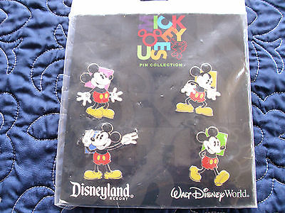 Disney * OH MICKEY! * 4 pin BOOSTER Set * NEW MIP SET *