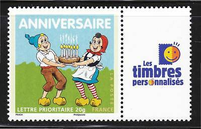 "FRANCE  PERSONNALISE N° 4081A ** GB, Logo ""TP"", TTB"