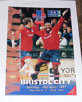 York City -v- Bristol City 1996-1997