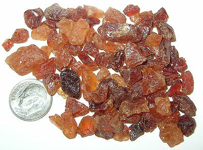 250ct Lot Tanzanian Hessonite Garnet Mixed Rough