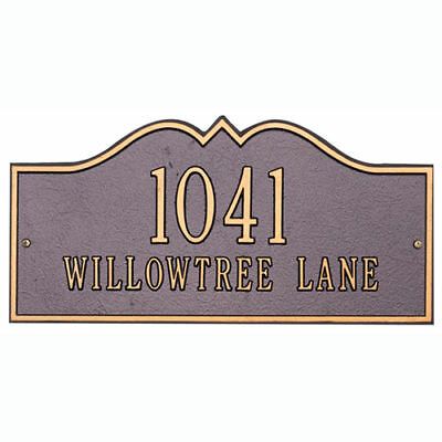Whitehall Plaque - Hillsboro House or Lawn Sign