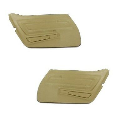 70 - 77 Corvette Door Panels, Pair, NEW, All Factory Colors Available