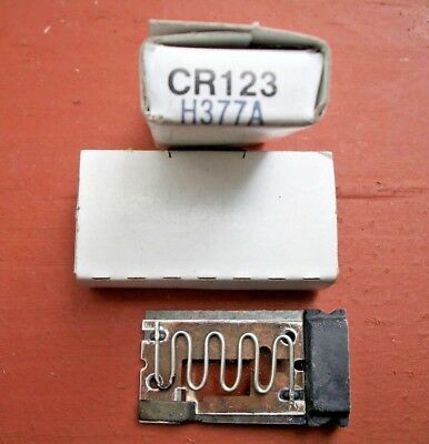 GE CR101 CR123H3.77A CR123 H3.77A HEATER ELEMENT NEW LOT OF 4