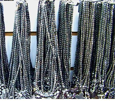 10 Hematite Necklaces Lot Mixed Tusk Cross Hearts Wish Luck LOT