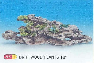 "Classic Driftwood Pinnacle & Plt 8"" For Aquarium Tanks"