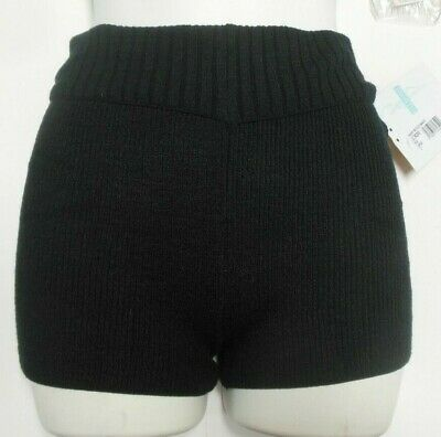 NWT HARMONIE ROLL DOWN WAIST SWEATER SHORTS ADULT colors available