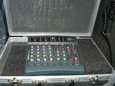 Mixer Amplifier Spirit Powerpad + Fly Case