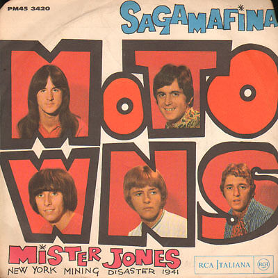 Motowns - Sagamafina/Mister Jones