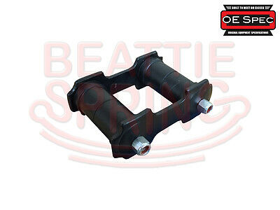 Shackle Kit for Rear Leaf Springs on Mustang and Falcon