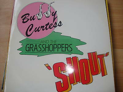"Buddy Curtis & Grasshoppers Shout (PS) 12"" Vinyl Record"