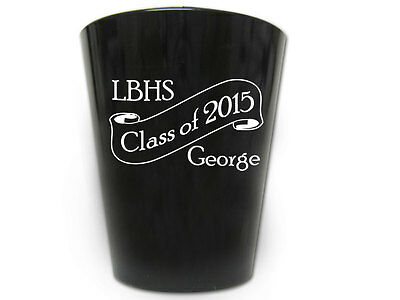 240 Personalized Graduation Party Shot Glasses Favors
