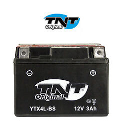 Batterie Scooter Booster Moto YTX4L-BS 12V 3Ah NEUF