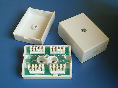 Terminal Block 78A Inline IDC Coupler Junction Box ADSL Extender Joiner BT ADSL