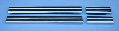 VW Tiguan 4 Door Sill Protectors LOCKWOOD Stainless Steel Scuff Guard Kick Plate