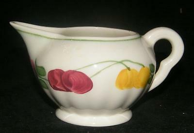 SOUTHERN POTTERIES BLUE RIDGE FRUIT FLOWER CREAMER