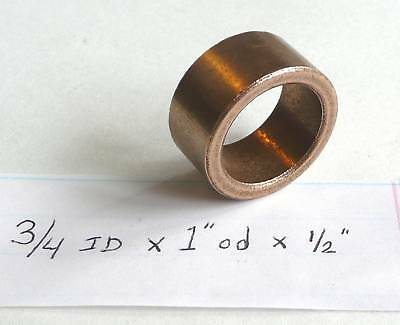 Oilite Bushing Bronze New 3//8 id x 9//16 od x 3//8 Bush Brass Bearing Motor B52