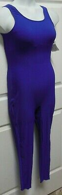 NWT TANK UNITARD MATTE SPANDEX MANY COLORS CHILD ADULT shelf lined