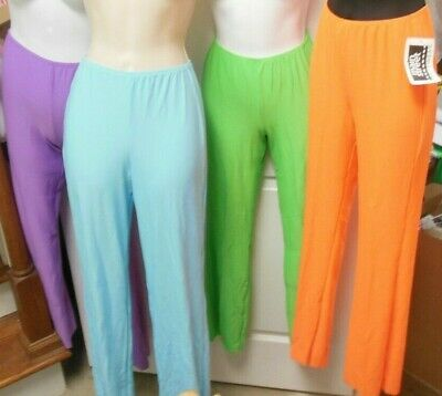 NWT BOOTCUT JAZZ PANTS colors ch/ladies Theatrical Dance Performance Costume