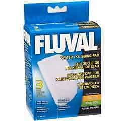 HAGEN FLUVAL POLISHING POLY PAD FILTER  3pcs 105 205
