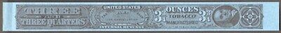 Tobacco Strips Taxpaid Stamp Springer #TG1070b