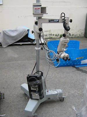 Olympus Stereo Microscope Head & Storz Counterpoise Stand