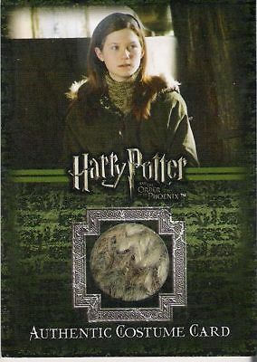 Harry Potter Order Of The Phoenix Bonnie Wright As Ginny Weasley Costume Card C5