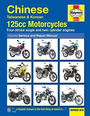 Haynes Manual 4871 - Chinese/Taiwanese/Korean 125cc Bikes - workshop/service