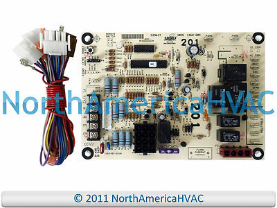 york luxaire coleman furnace control circuit board 031 09118 000 031 furnace thermostat wiring diagram oem york coleman luxaire furnace control circuit board 43101972100