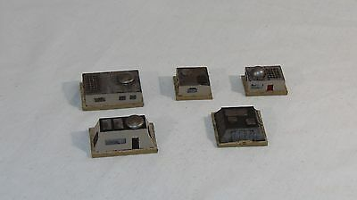 1/300 scale 6mm sci-fi scenery General purpose building's x5 by Daemonscape.com