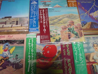 Little Feat Japan Replica Obi 7 Titles 8 Cd Set  Limited Editions One Time Price