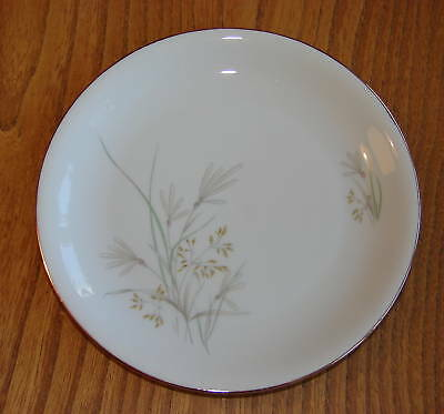 KPM Krister Tea or Side Plate decorated with flowering grasses - Pattern 606 16