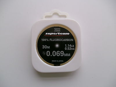 SHAKESPEARE SUPERTEAM 100% FLUOROCARBON 1.14lb 30m   * NOW TO CLEAR