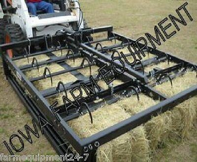 Grapalator, Long HGARR-10: Gather, P.U. & Unload 1-10 Hay or Straw Bales, SSQ/A