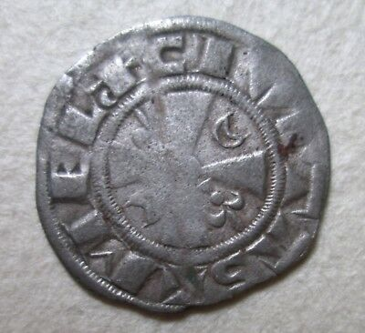 Champagne Meaux Stephen Bishop Crusader Silver Coin Archaeology