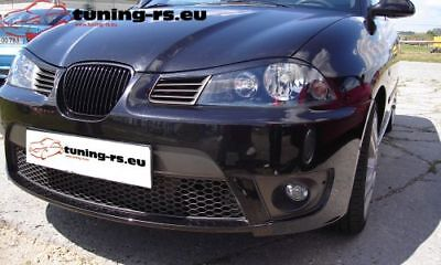SEAT IBIZA 6L CASQUETTES DE PHARES (ABS) tuning-rs