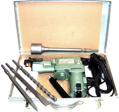 1-1/2 Rotary Hammer Drill With Core Drill Bit Heavy Duty Demolition Power Tool