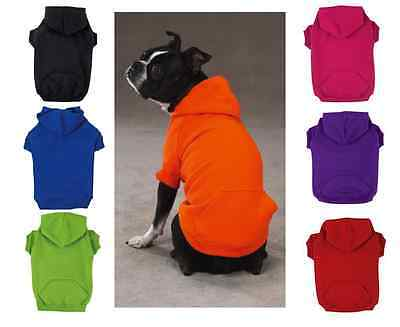 Zack & Zoey HOODIE Dog Basic Sweatshirt Shirt Sweater Winter Clothes US SELLER