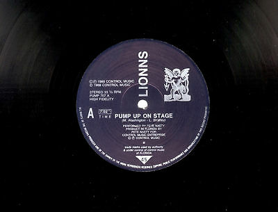 """12"""" - Lionns – Pump Up On Stage (HOUSE)"""