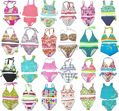BATHING SUIT 2 PIECE SWIMSUIT GIRLS CHILDRENS KIDS YOUTH SUMMER TEENS two PC