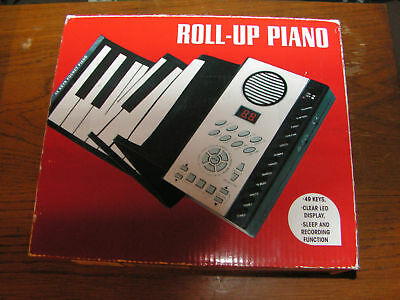 EB EXCALIBUR ROLL-UP PIANO-NEW-#658BK
