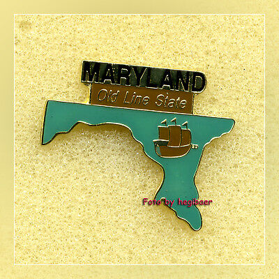 Maryland Annapolis Old Line State Pin Pins Anstecker