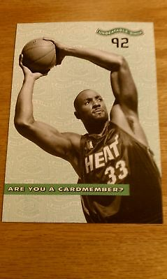 Alonzo Mourning American Express Postcard New Unused