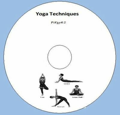 Practical Yoga Lessons / Lectures CD Rom Health techniques