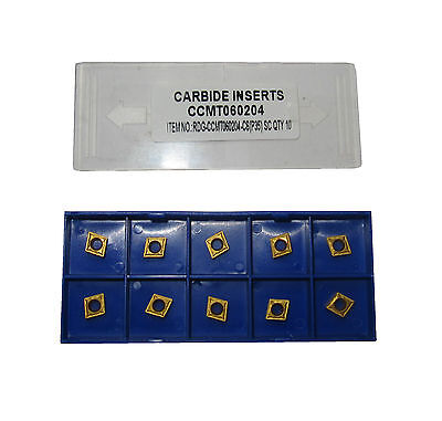 Rdgtools Ccmt 06 Carbide Tips / Inserts / Turning Tools